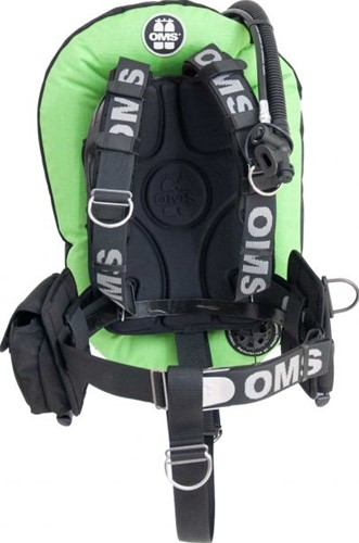 OMS AL, LIZARD GREEN / black, SmartStream Signature PF Mono 32 lb