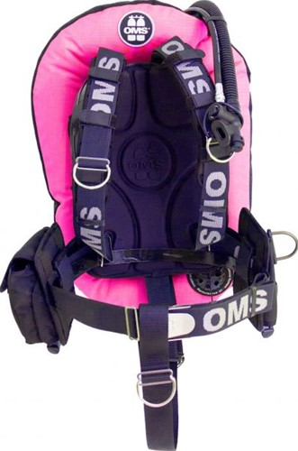 OMS AL, pink / black, SmartStream Signature PF Mono 32 lb