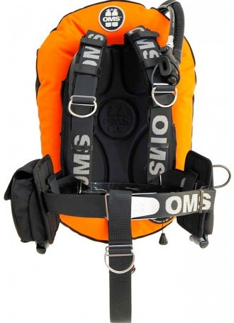 OMS SS, LAVA ORANGE / BLACK, SmartStream Signature PF Mono 32 lb
