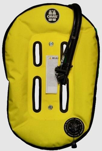 OMS IQ Lite XS CB - Cummerbund Signature with Speed Yellow / Black Performance Mono Wing 32 lb (~12.5 kg)