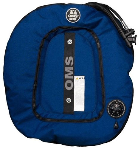 OMS Aluminum SmartStream System with Ocean Blue / Black Performance Double Wing 45 lb (~20 kg)
