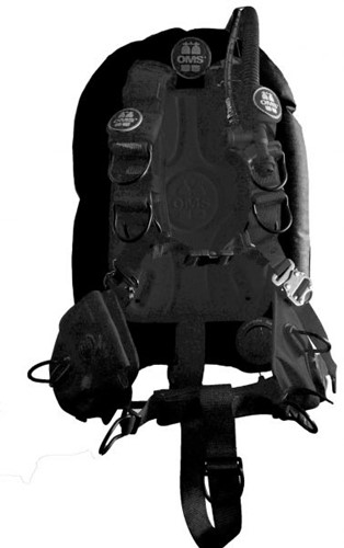 OMS SS, BLACK, Comfort Harness III Signature PF Mono 27 lb