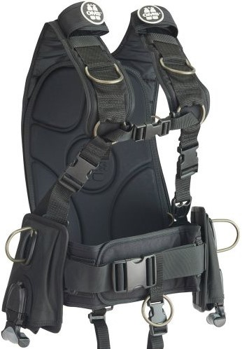 OMS IQ LITE CB Backpack M/L w. vertical weight pocket and NEW Utility weight pocket