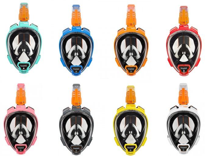 Ocean Reef Aria QR+ Full Face snorkelmasker