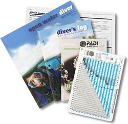 PADI Open Water Crewpak met duiktabel