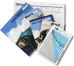 PADI Open Water Crewpak Ultimate met duiktabel