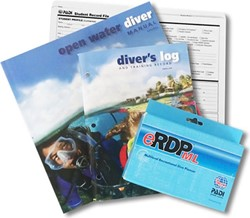 PADI Open Water Crewpak met eRDPML