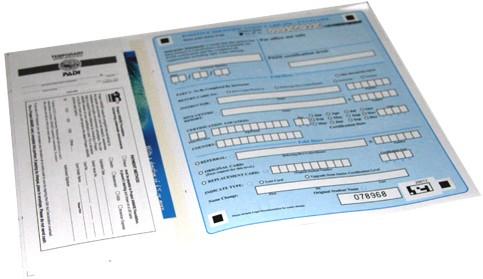 PADI PIC Paper - Aangekocht Met Crewpak
