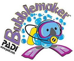 PADI Decal - Bubblemaker