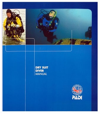PADI Manual - Dry Suit (Polish)