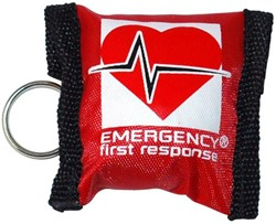 PADI Key Ring - EFR Barrier, with Gloves