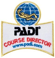 PADI Emblem - Course Director