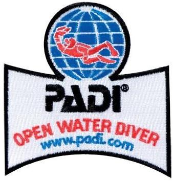 PADI Embleem - Open Water Diver