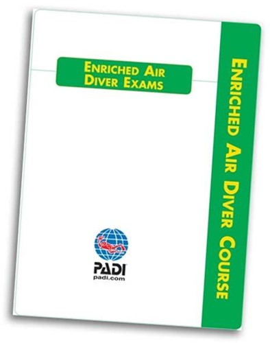 PADI Exam - Enriched Air Diver, Computer Use (Dutch)