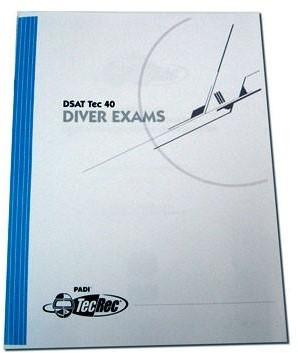 PADI Examen - Tec Deep Instructor, Theory & Practical Application
