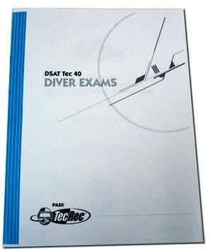 PADI Exam - PADI Rebreather and Adv Rebreather, Diver (French)