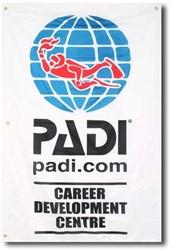 PADI Flag - Career Development Centre, 1m x 1.5m
