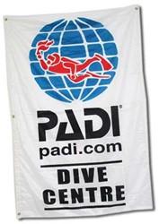 PADI Flag - Dive Centre, 1m x 1.5m