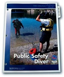 PADI Instructor Guide - Public Safety Diver, Specialty