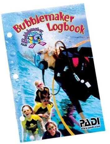 PADI Logbook - Bubblemaker (Spanish)