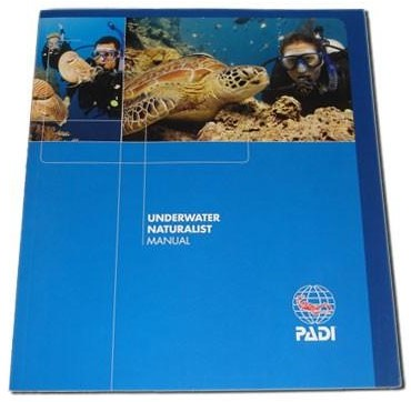 PADI Manual - Underwater Naturalist Specialty (Portuguese)