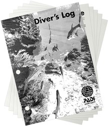 PADI Adventure Log - Refill Pages