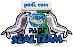 PADI Emblem - PADI Seal Team
