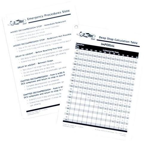 PADI Slate - TecRec Emergency Procedures