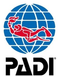 PADI Flag - Mini Exhibition, PADI, Blue