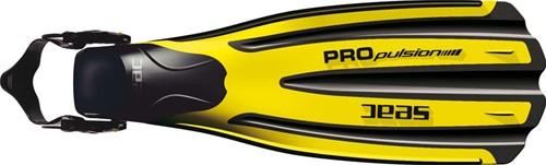 Seac Fins Propulsion duikvinnen geel (40-42)