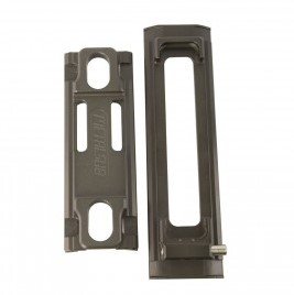 Metalsub Tank Holder, Tank Plate and Set of RVS Clips 90-110mm (3L)