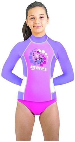Mares Rash Guard Kid L/S Girl M