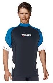 Mares Rashguard Man UPF50 Short Sleeve