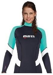 Mares Rash Guard Trilastic L/S She Dives Xs