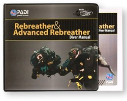 PADI Manual - PADI Rebreather and Adv. Rebreather, with Binder