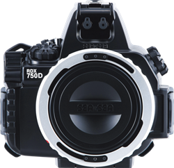 Sea & Sea Rdx-750D/800D Housing For Canon Eos 750D/800D/Rebel T6I/T7I