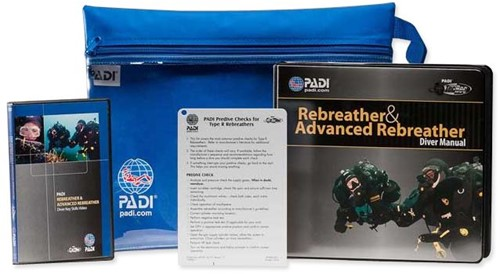 PADI Crewpak - PADI Rebreather En Advanced Rebreather Met DVD