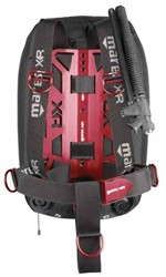 Mares Red Devil Single Backmount Set - Xr Line