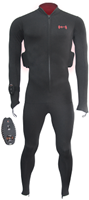 Thermalution Red grade PLUS  rechargable Thermal body suit,Wireless 100M XL