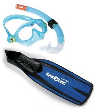 Aqualung Reef DX Caravelle kindersnorkelset