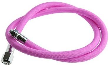 Regulator hose flex 3/8 pink 100 cm