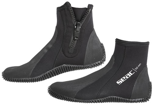 Seac Regular Boots With Zip 5Mm M