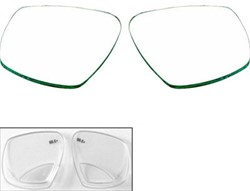 Aqualung Reveal X2 Mask Glazen links