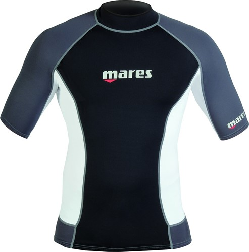 Mares Rash Guard Trilastic S-Sleeve Man Xs