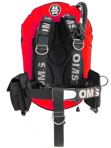 OMS SS, RED/ BLACK, SmartStream Signature PF Mono 27 lb