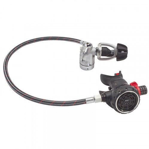 OMS Airstream Evoque YOKE with 100 cm OMS by Miflex hose PVD black