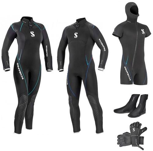Scubapro 7mm Definition wetsuit set