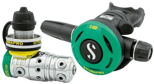Scubapro MK25 Evo / S560 Nitrox 1e + 2e Trap