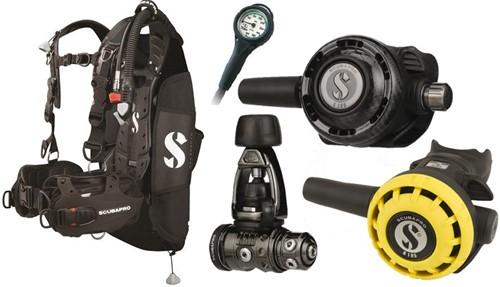 Scubapro Set Hydros Pro MK19 G260BT