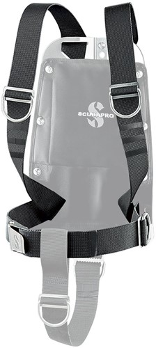 Scubapro Pure Tek Harness System W/O Backplate, Crotch Strap And Backplate Storage Pack
